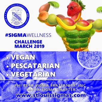 Kappa Sigma MARCH 2019 Wellness Challenge